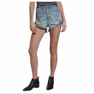 NWT One Teaspoon Bandits High Waist Denim Shorts